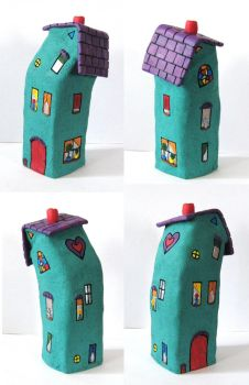 Quirky Crooked House by GabriellesBabrielles