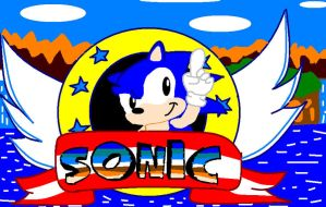 sonic first game by sonictails9
