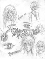 Sketches by Nach4ever