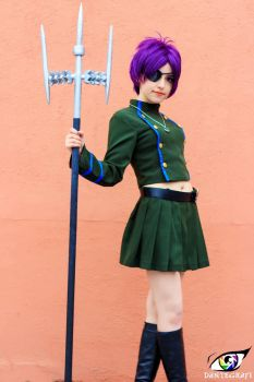 Chrome Dokuro Cosplay by DEATHNOTE---L