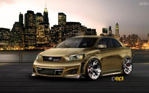 Toyota Corolla XXRs -VT- by PepiDesigns
