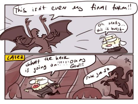 The Witcher 3, doodles 192 by Ayej
