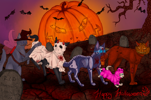 Happy Halloween. by Madlaid