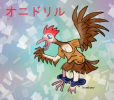 022 Fearow tf solo by inuebony