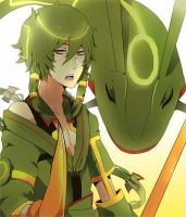 Humanized!PKMN X Reader Ch.2: Rayquaza