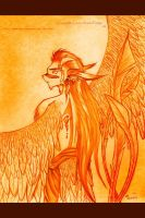 Winged Anthro I for Prints by lavonne