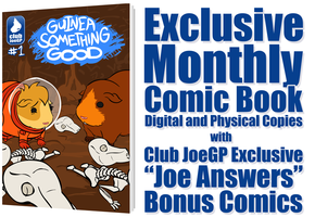 Exclusive Monthly Comic Book by JoeGPcom