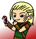 Holiday Elf Zevran by Couy-Chan