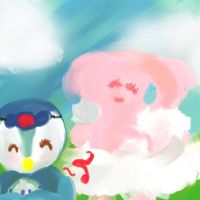 PMD-Egg Get by The-Pink-Green-Chibi