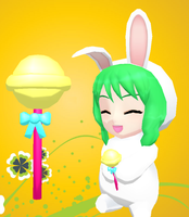 MMD-Cute lollipop DL by Shioku-990