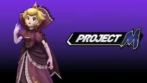 Project M Wallpaper - Shadow Queen Peach by TheWolfGalaxy