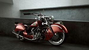INDIAN CHIEF 348    1948 by melkorius
