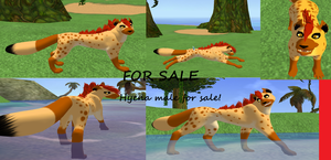 (LM) Hyena for sale! by galexy-candy