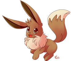 [Pokedex project] Eevee by Riboo