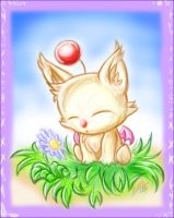 A Young Moogle's Fancy by Moppy