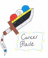 Cancer Blade by kelsanity
