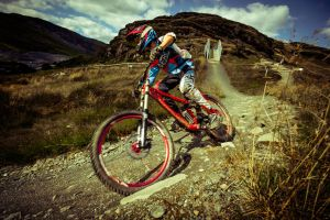 Downhill Mountain biking Stinog Full DH Bike 2 by Samuel-Benjamin