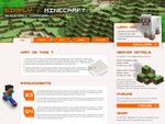 SIMPLY MINECRAFT WEBSITE by charlot2
