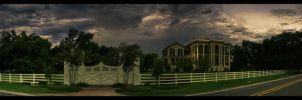 Louisiana plantation by titoff77