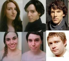 Sherlock Cosplay Makeup Test 2: Now With Moar Jawn by theenvylover