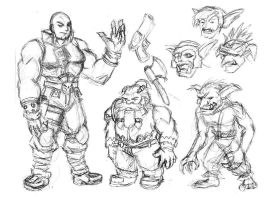 Skullkickers rough by strangefour
