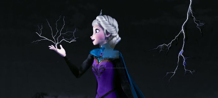 Elsa Lightning by shercapslocked