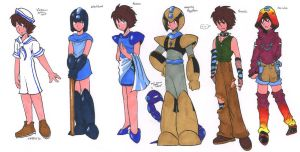 Outfits by General-RADIX
