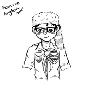 Moonrise Kingdom Progression [Sam Sketch] by NightLightArt