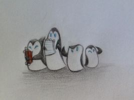 Penguins! by VirtualSketcher