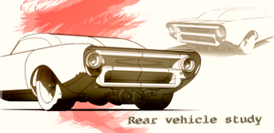 Rear Vehicle Study by aconnoll