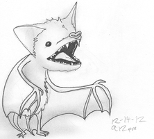 Leetle Bat by Dap-O
