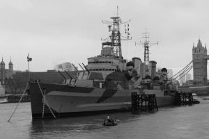HMS Belfast by Melee-pic