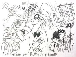 Stella,She's a Spygirl : The Fanfare of  Dr.Weirdo by komi114