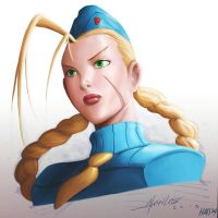 Alvin Lee's Cammy Street Fighter by Hanszs