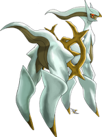 Arceus Electric Type by Xous54