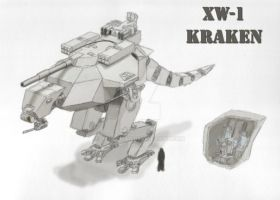 XW-1 Kraken Redesign by cthelmax