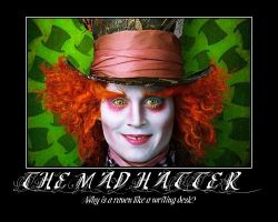 The Mad Hatter by aeriefeeling