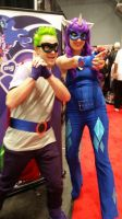 Hum Drum and Radiance (NY Comic Con 2014) by KarNYCLoAMR