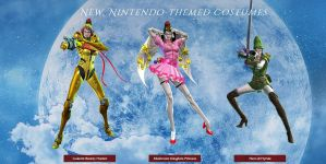 Bayonetta Wii U Costumes by Creelien