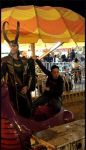 GIF- Loki is 100% done with you, Tony. by LaneDevlin