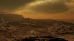 Mars Mining Colony by CGBolton