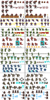 Team 6 sprite sheet by coyotepack