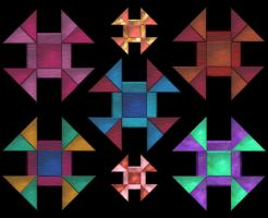 Quilt Squares edgy by elsie432
