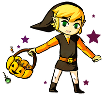 Trick-or-Treat Link by Icy-Snowflakes
