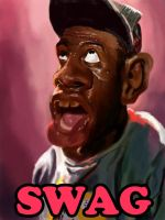 Tyler The Creator Caricature by rcrosby93