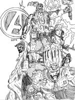 The Avengers by jakester2008