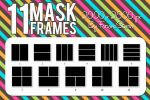 11 Mask Frames (Pack 1) by FaroneStorm