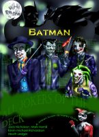 The Joker strikes quadrople by Eylam