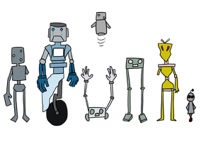 Robot Designs by Unknown-Variable