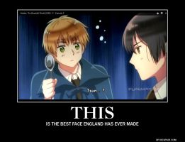 England's best face by invadersharie